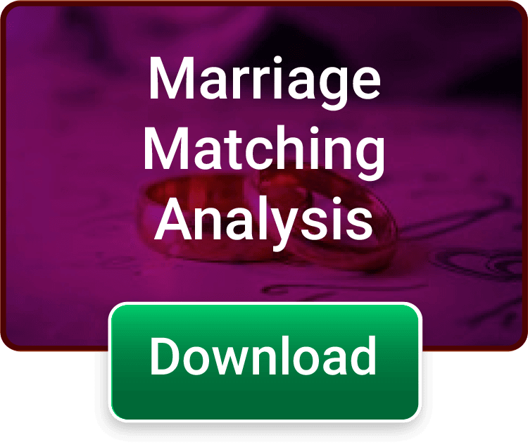 Marriage Horoscope - How will be your marriage? Get the full