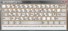 TamilPad typing layout