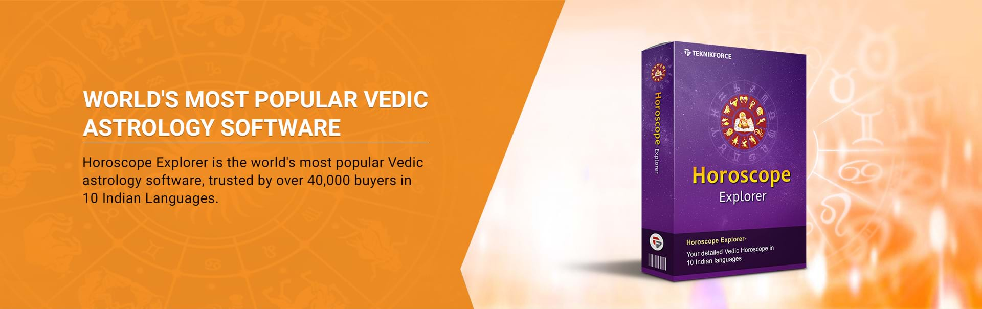 Vedic astrology software products - Horoscope Explorer